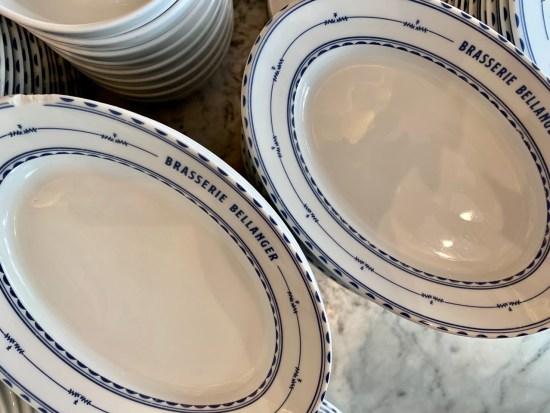 Brasserie Bellanger - la vaisselle