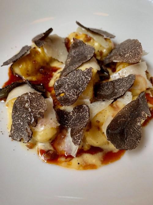 gnochis à la truffe