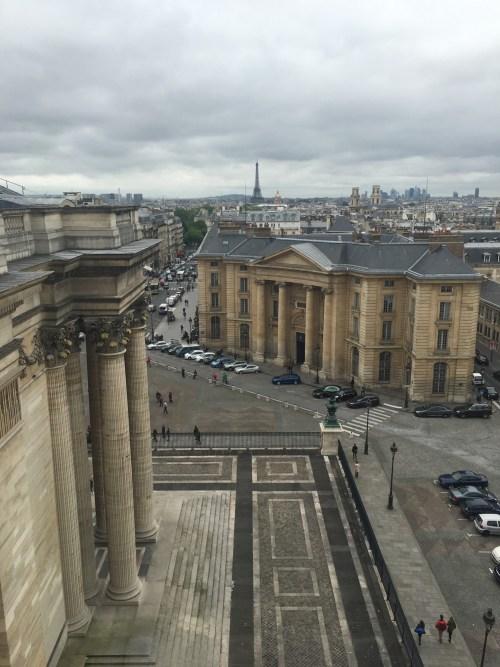 perspective sur la rue Soufflot