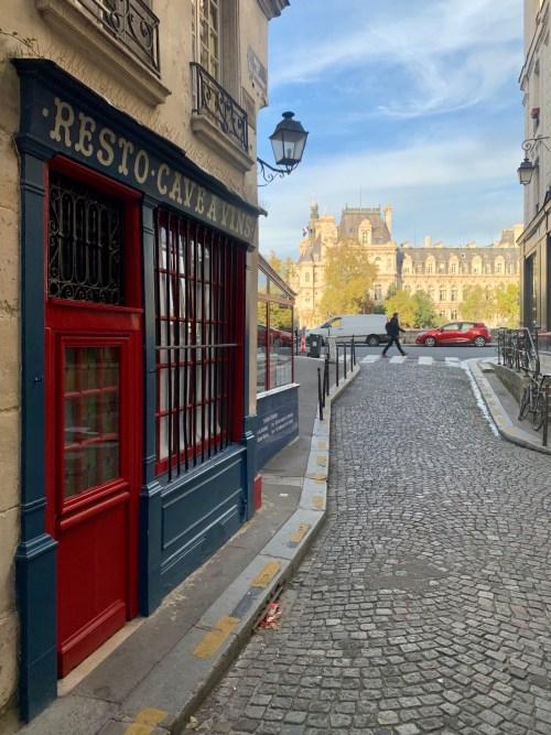 Ile de la Cité - rue de la Colombe