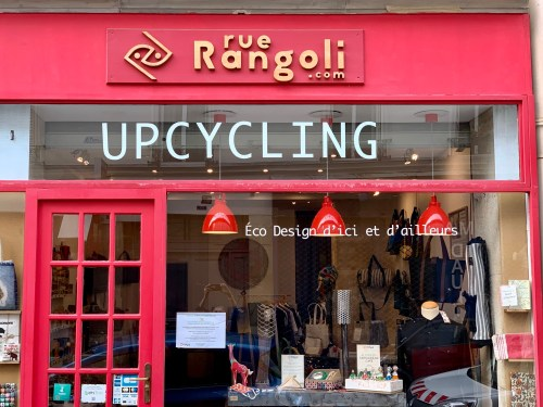 Rue Rangoli - upcycling