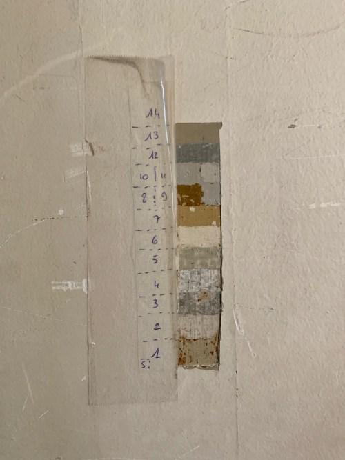 Hôtel de la Marine - 13 couches de peinture