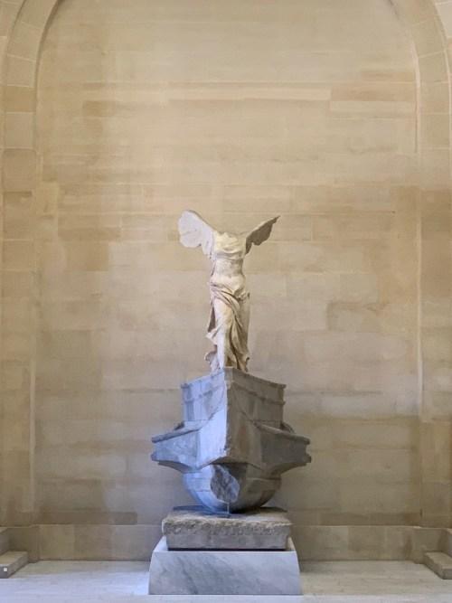 Louvre - la victoire de Samothrace