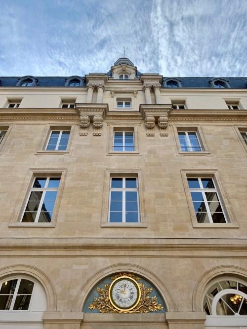 Hôtel de la Marine - cour d'honneur