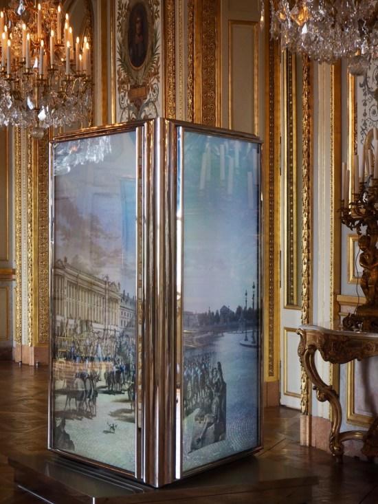 Hotel de la Marine Salons d'apparat et miroirs dansants