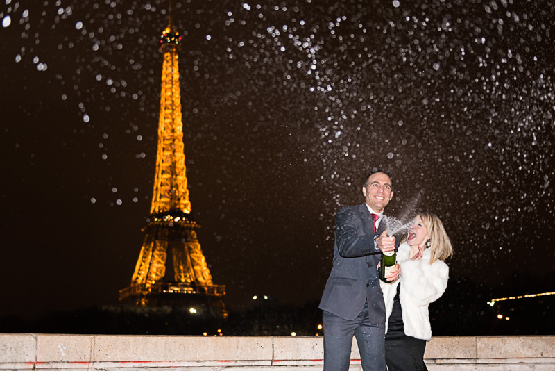 champagne-shower-at-the-eiffel-tower-celebrating-wedding-anniversary