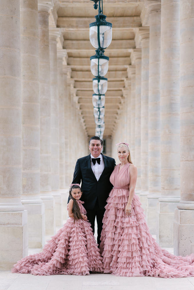 Paris family photos