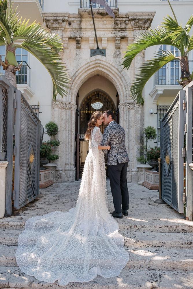 3 Stylized shoot at Versace Mansion - The Villa Casa Casuarina - Miami US