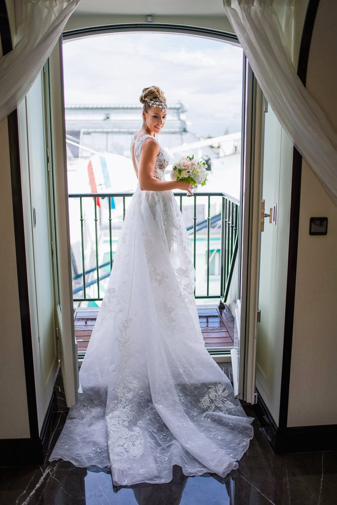 Wedding at The Peninsula Paris
