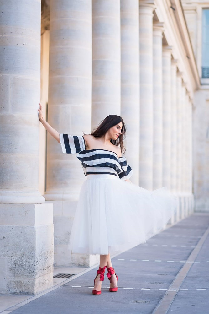 Photoshoot outfits for Palais Royal