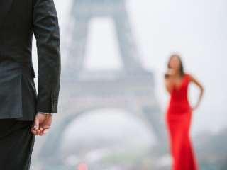 Best couple photography engagement photos in Paris