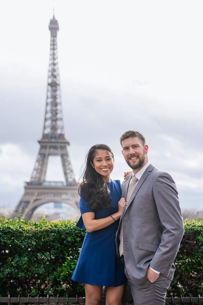 Paris Wedding Anniversary Celebration Photos