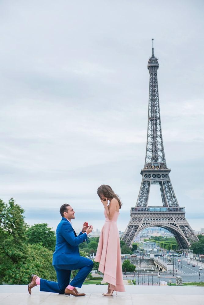 get engaged in paris