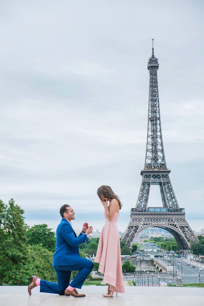 get engaged in paris