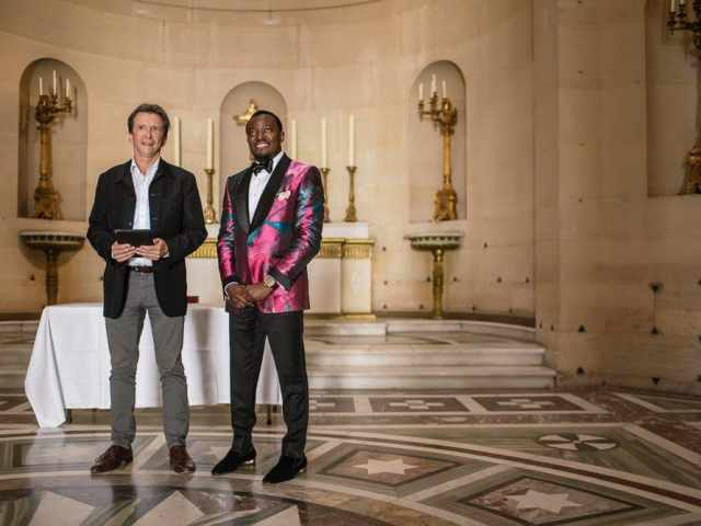 Plaza Athenee Paris Wedding – Chapelle Expiatoire ceremony -14