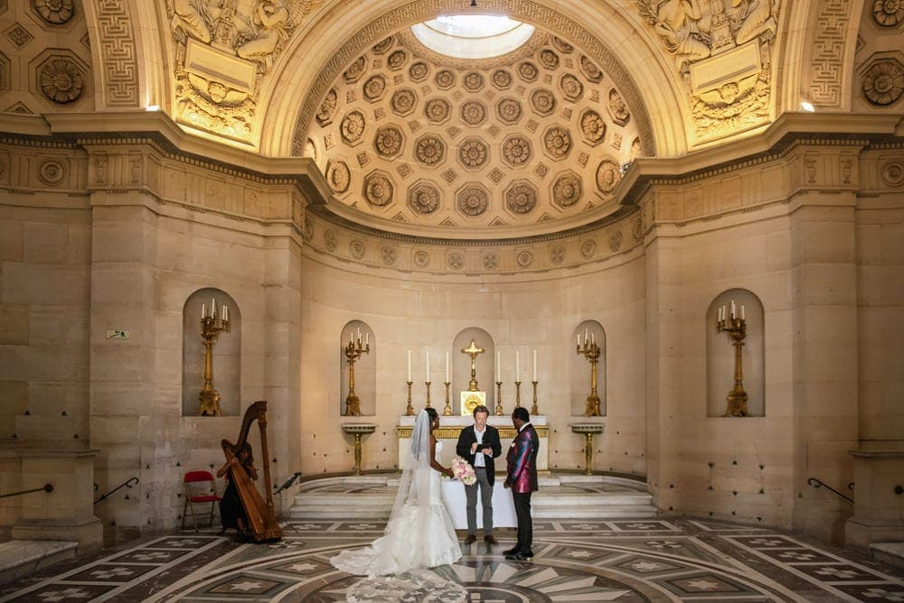 Plaza Athenee Paris Wedding – Chapelle Expiatoire ceremony -18
