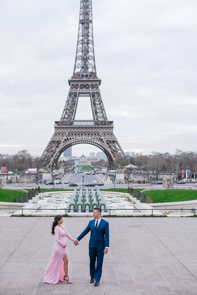 Paris Maternity Photo Shoot artist Vio