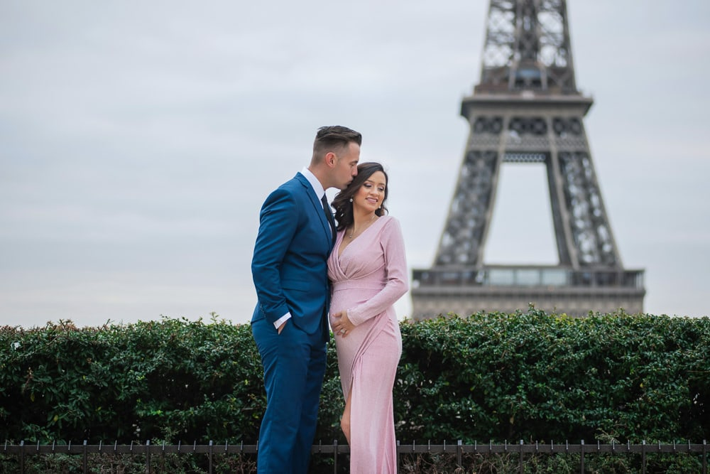 Magical Paris Photo Shoot for Moms To Be