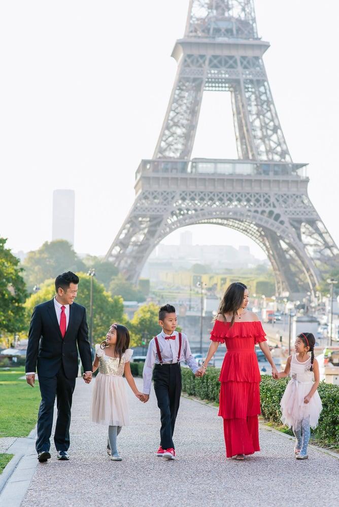 family photo shoot in paris 7