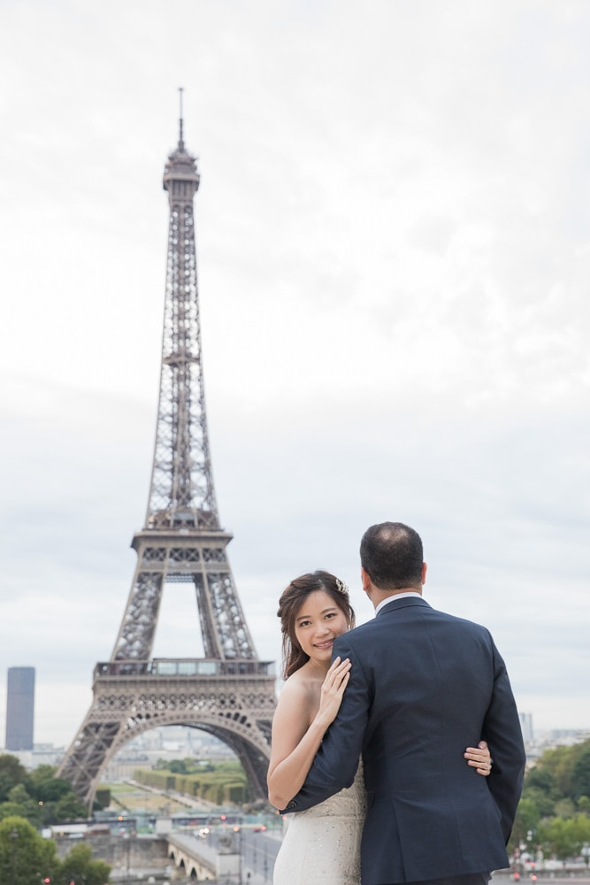 Paris wedding photography packages