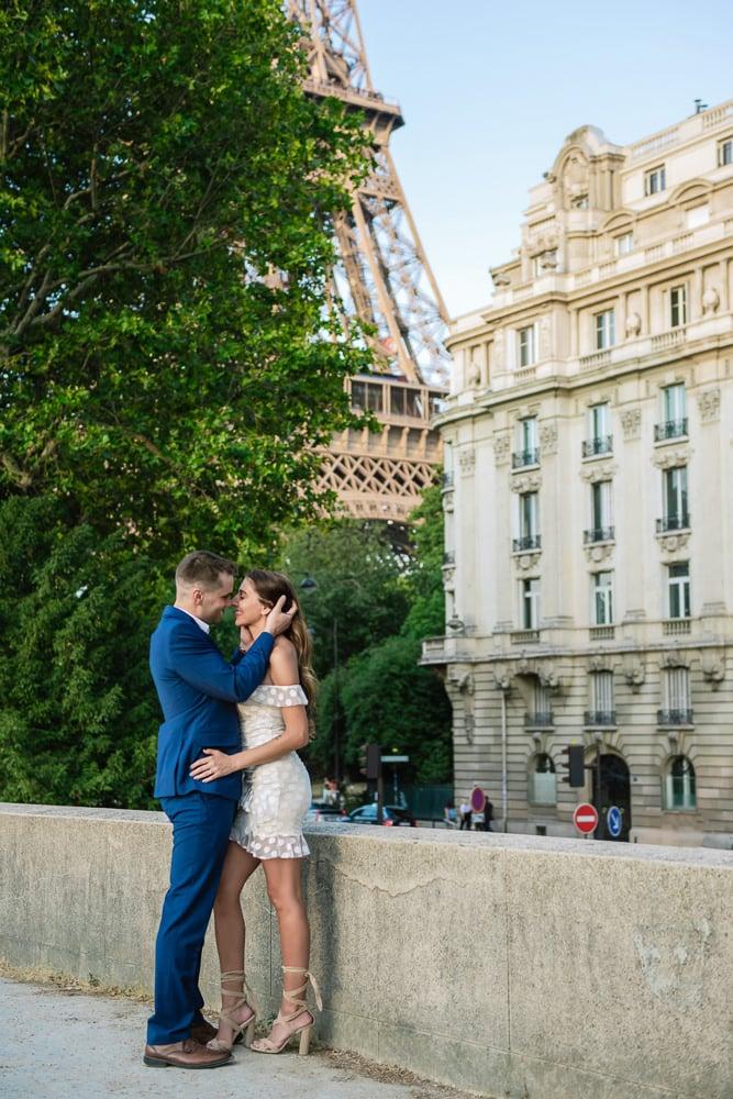 Dreamy Romance during Paris Photoshoot