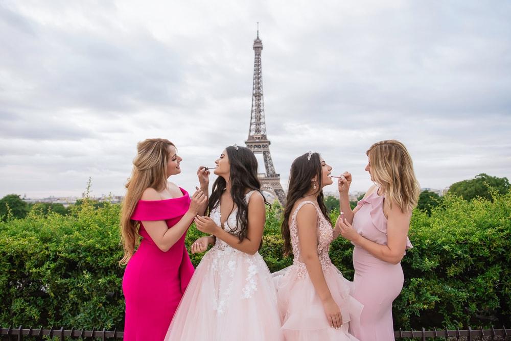 Quinceanera Paris - Family adventure