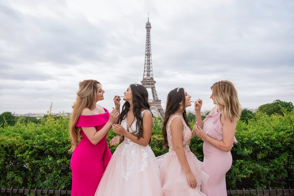 Quinceanera Paris - Family adventure