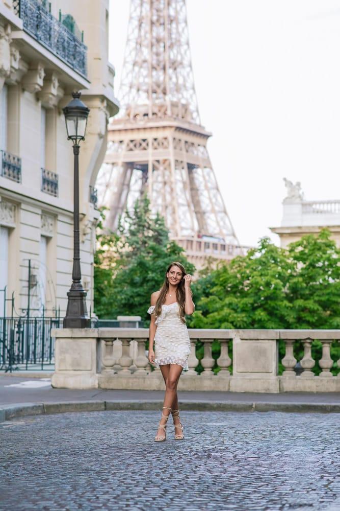 Solo Portrait Photoshoot In Paris