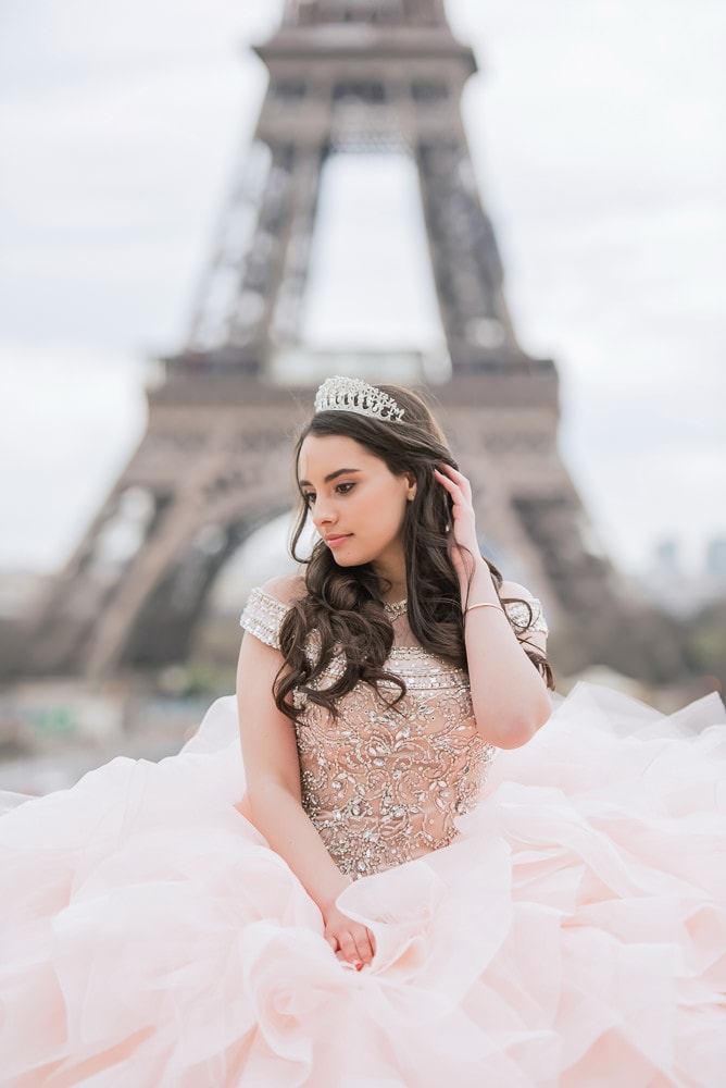 quince photos in paris young girl with tiara