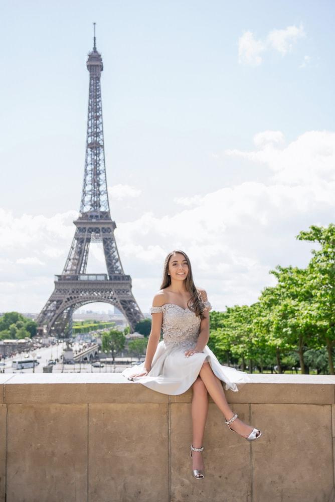 quinceanera photos ideas travel to Paris