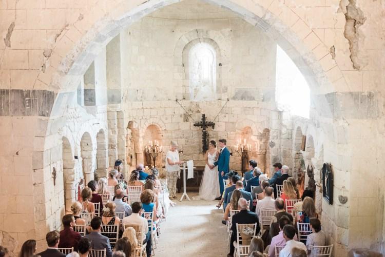 Chateau de Lisse wedding ceremony