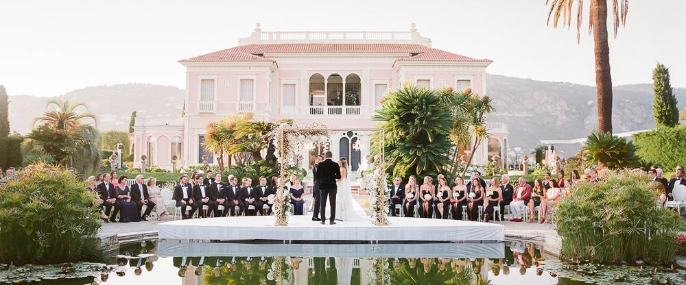 Villa Ephrussi De Rothschild luxury wedding venue