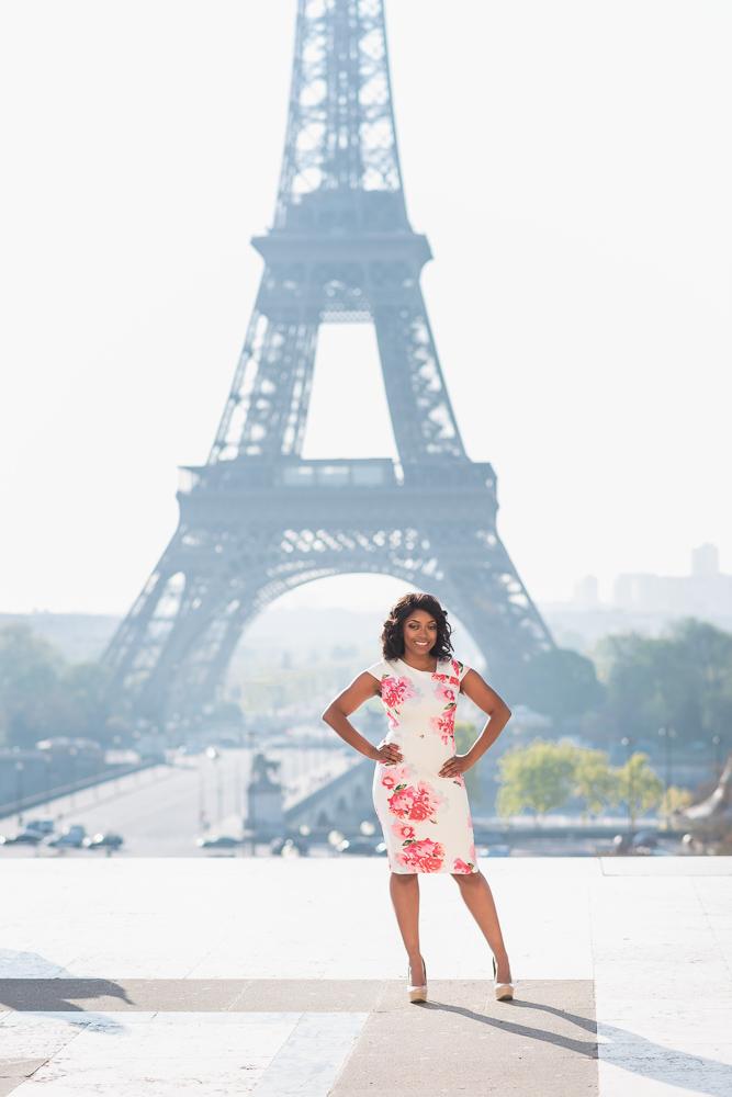 Graduation photos in Paris 19