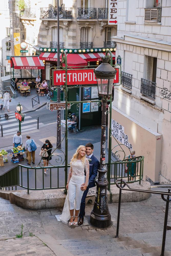 Paris France elopement 43