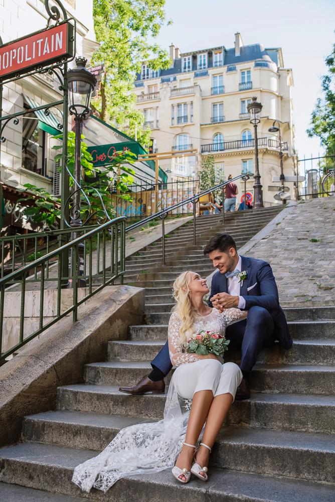 Paris France elopement 51