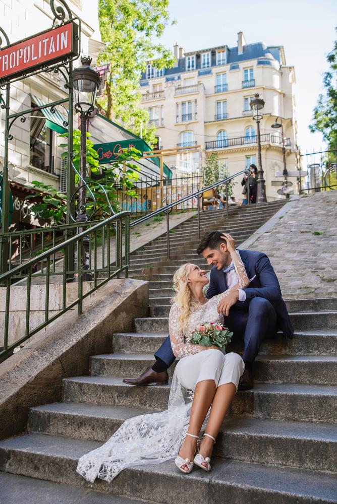 Paris France elopement 53