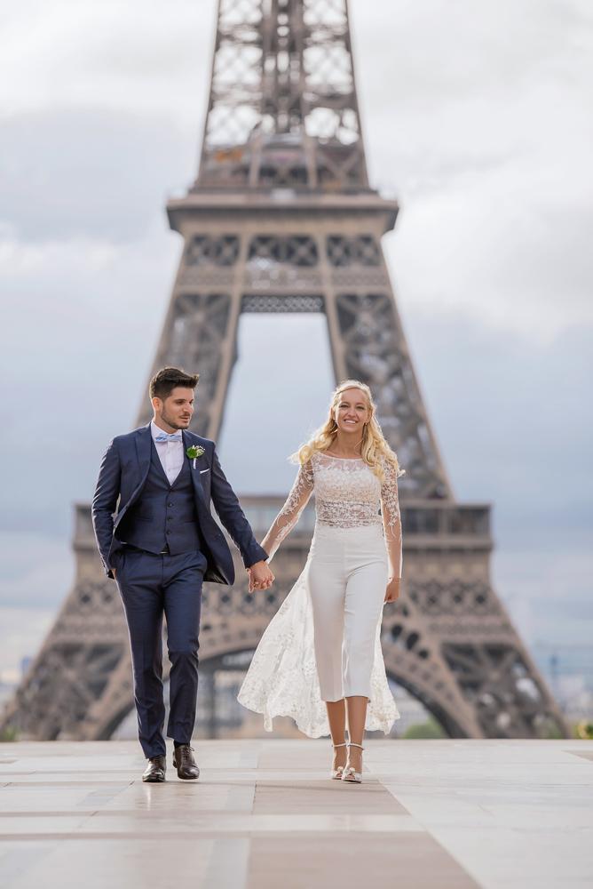 Paris France elopement 66