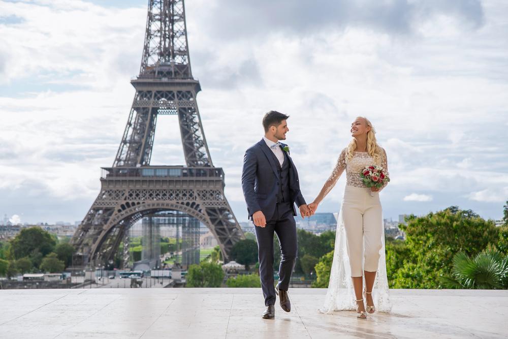 Paris France elopement 74