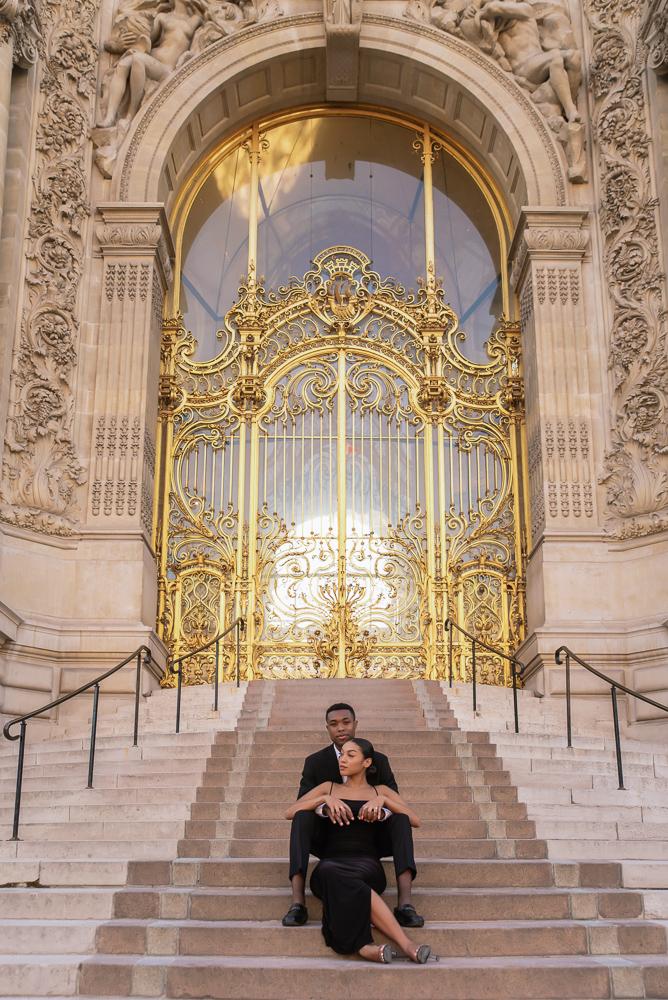 Proposal in Paris Eiffel Tower 34