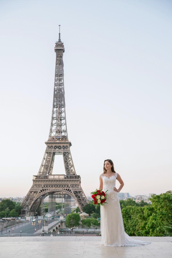 Wedding photoshoot in Paris by Pierre 10