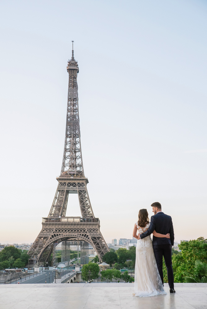 Wedding photoshoot in Paris by Pierre 17