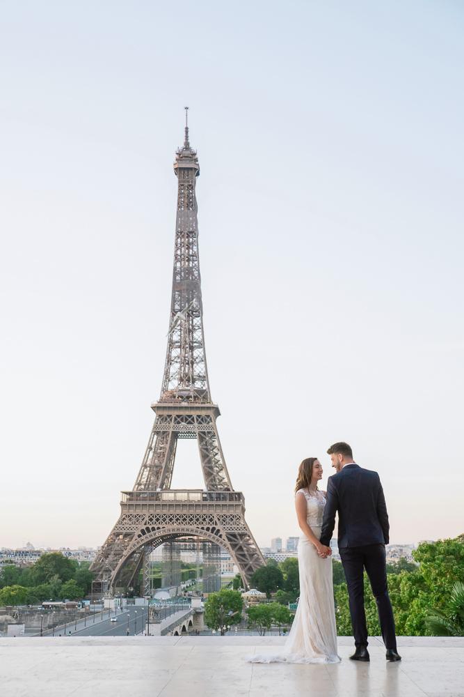 Wedding photoshoot in Paris by Pierre 21