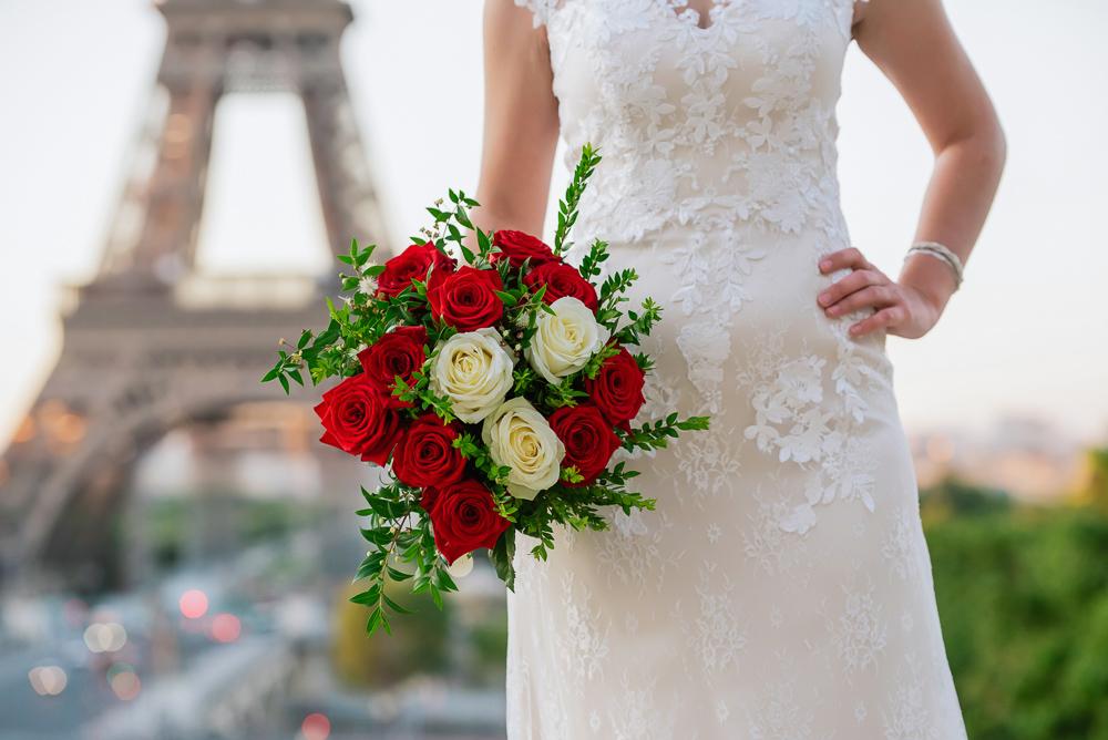 Wedding photoshoot in Paris by Pierre 23