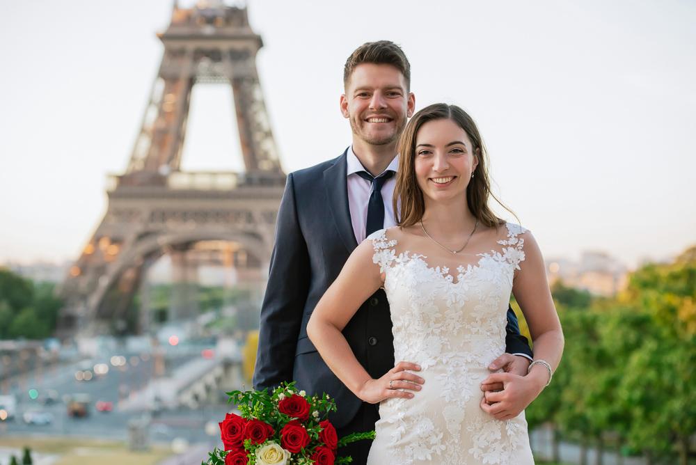 Wedding photoshoot in Paris by Pierre 25