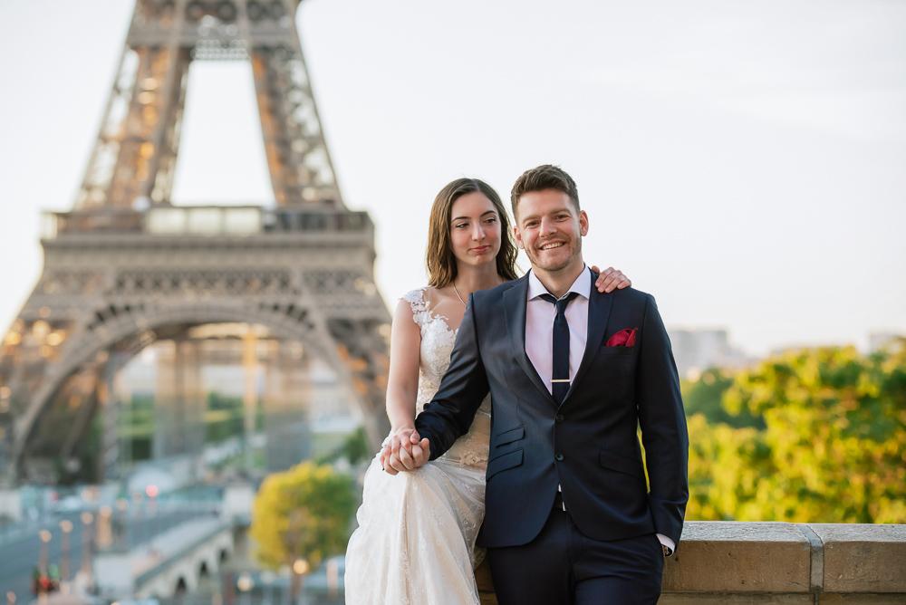 Wedding photoshoot in Paris by Pierre 28
