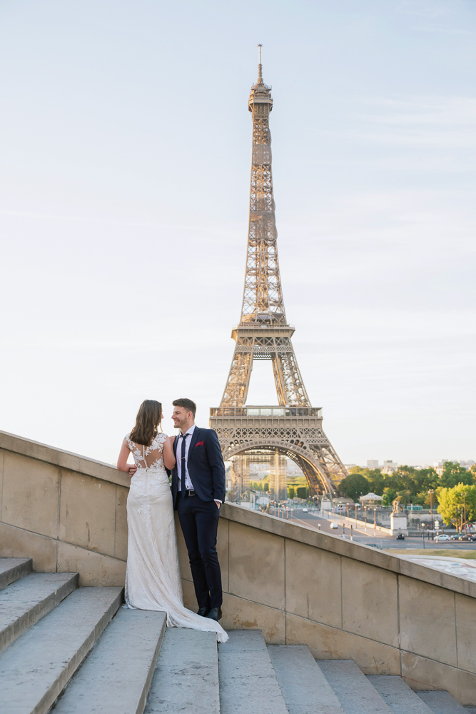 Wedding photoshoot in Paris by Pierre 35