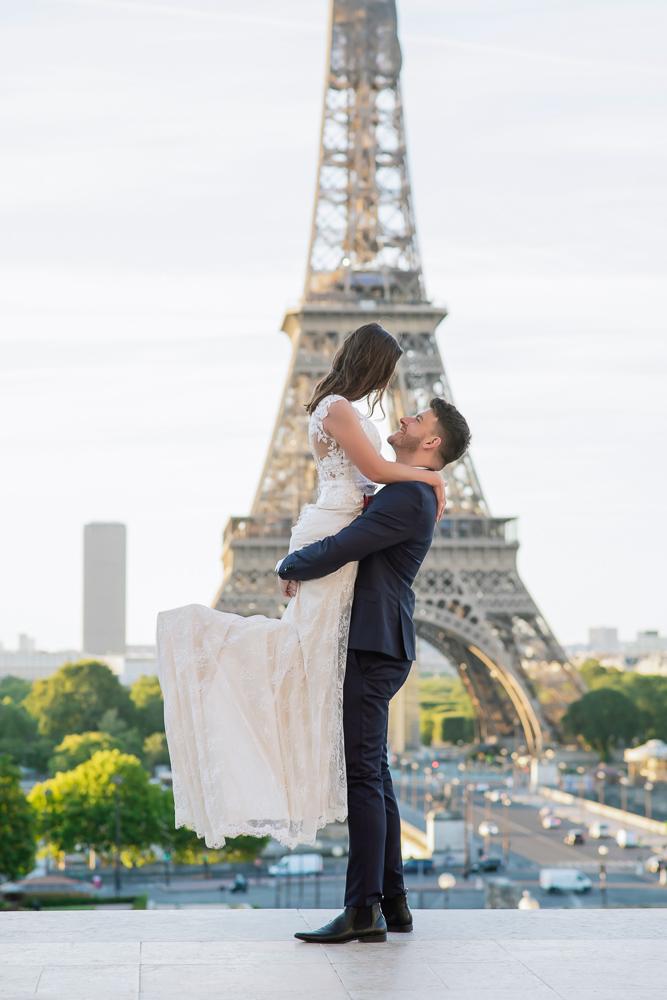 Wedding photoshoot in Paris by Pierre 37