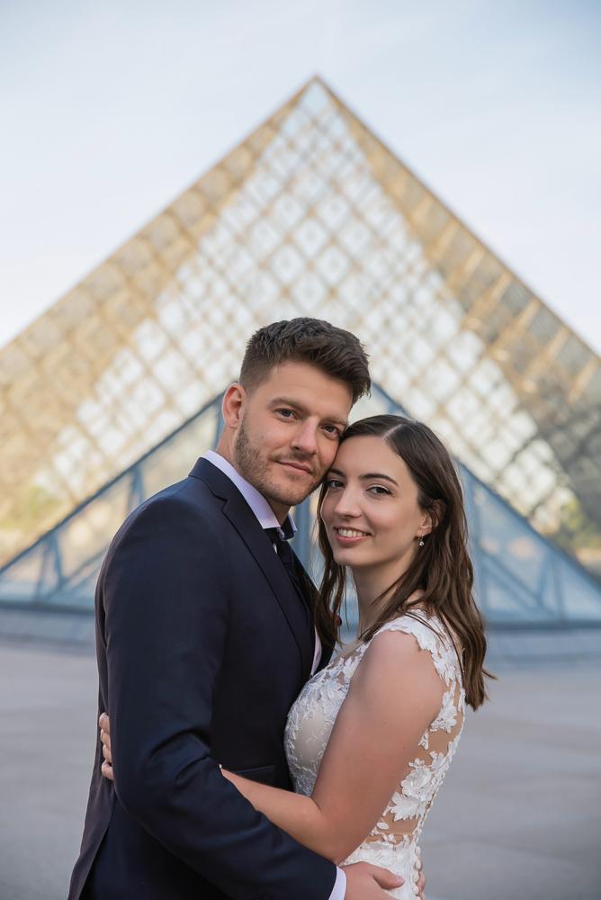 Wedding photoshoot in Paris by Pierre 46