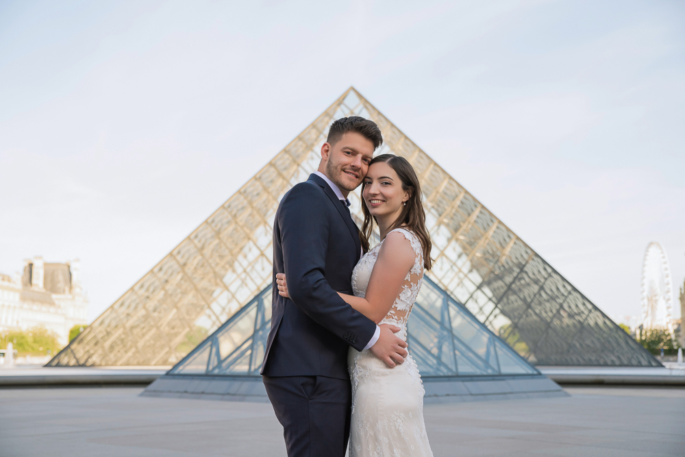 Wedding photoshoot in Paris by Pierre 47