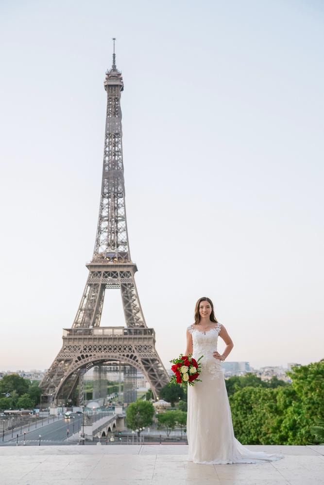 Wedding photoshoot in Paris by Pierre 9